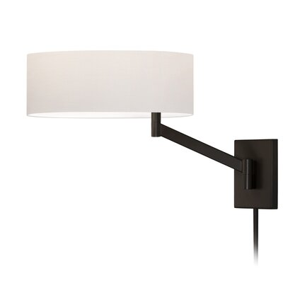 Sonneman Perch Swing Arm One Light Wall Lamp