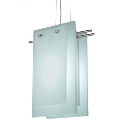 Sonneman Suspended Glass B 2 Light Foyer Pendant