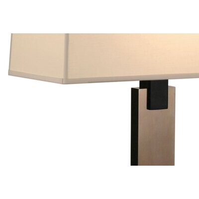 Sonneman Monolith Table Lamp in Black Brass