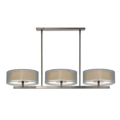 Sonneman Puri 6 Light Bar Drum Pendant