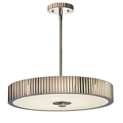 Sonneman Paramount 6 Light Drum Pendant