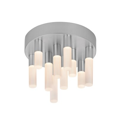 Sonneman Staccato 10 Light Flush Mount