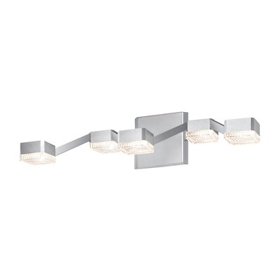 Sonneman Lattice 5 Light Bath Vanity Light
