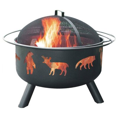 Landmann Big Sky Wildlife Fire Pit