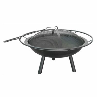 Halo Fire Pit Bowl with Ring and Poker