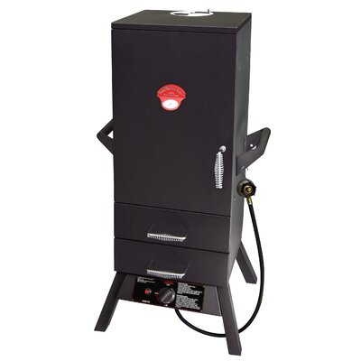 Smoky Mountain Two Drawer Easy Access Vertical Gas Smoker