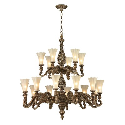 Allesandria 18 Light Chandelier
