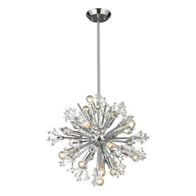 Elk Lighting Starburst 15 Light Chandelier