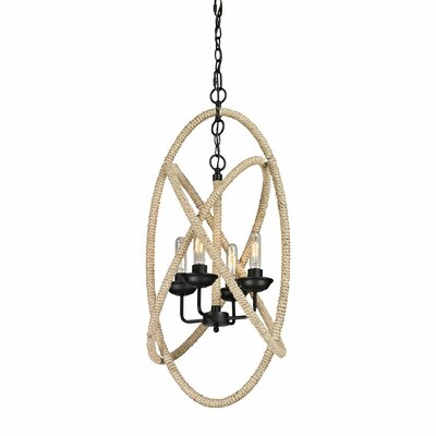Pearce 4 Light Candle Chandelier