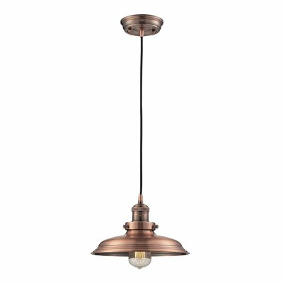 Elk Lighting Newberry 1 Light Mini Pendant