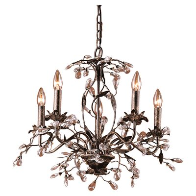 <strong>Elk Lighting</strong> Circeo Candle 5 Light Chandelier