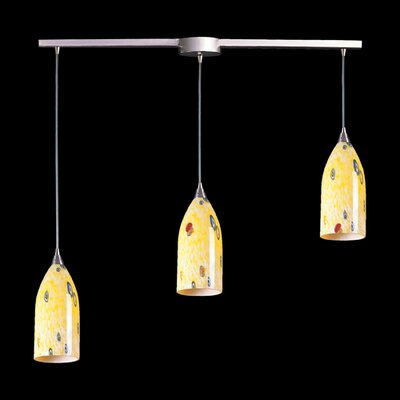 Elk Lighting Verona 3 Light Linear Pendant