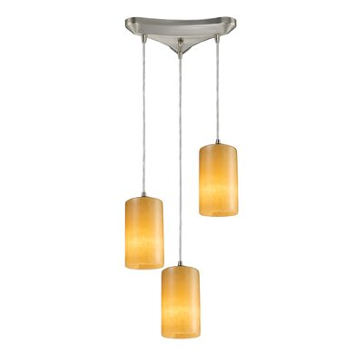 Elk Lighting Piedra 3 Light Pendant