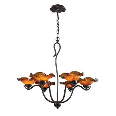 Elk Lighting Villa 6 Light Chandelier
