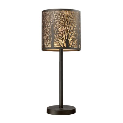 "Elk Lighting Woodland Sunrise 20"" H Table Lamp with Drum Shade"