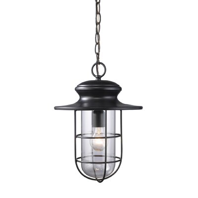 Elk Lighting Portside 1 Light Outdoor Hanging Lantern