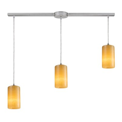 Elk Lighting Piedra 3 Light Linear Pendant