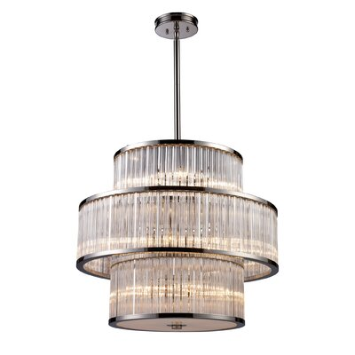 Braxton 15 Light Drum Pendant