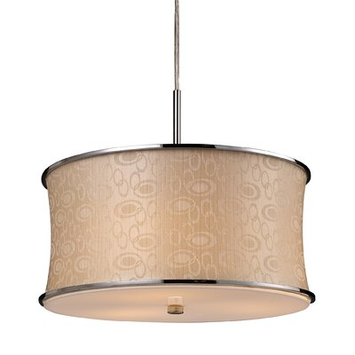 Elk Lighting Fabrique 3 Light Drum Pendant