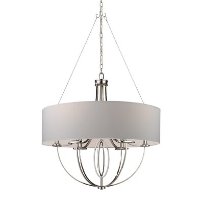 "Elk Lighting Retrofit Drum 28"" Shade in Beige"