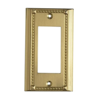 Elk Lighting Clickplates Switch Large Plate in Brass