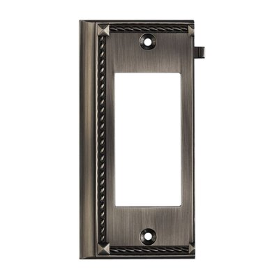 Elk Lighting Clickplates Large End Switch Plate in Antique Platinum