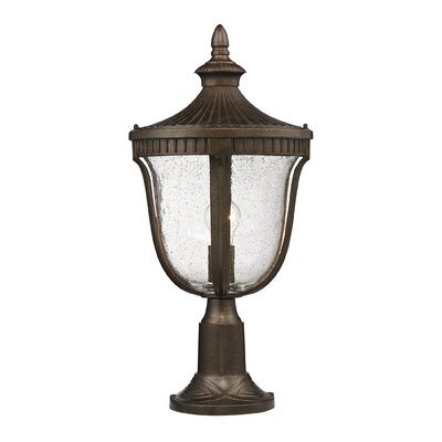 "Elk Lighting Freeport 1 Light 23"" Outdoor Post Lantern"