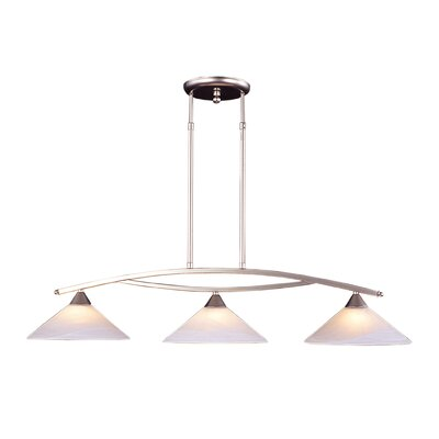 Elysburg 3 Light Kitchen Island Pendant