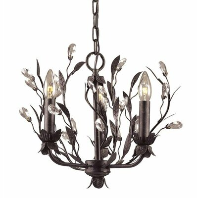 Elk Lighting Circeo 3 Light Mini Candle Chandelier