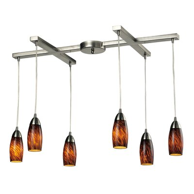 Milan 6 Light Pendant
