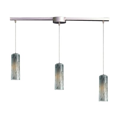Maple 3 Light Linear Pendant