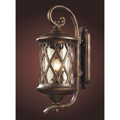 Elk Lighting Barrington Gate 3 Light Outdoor Wall Lantern