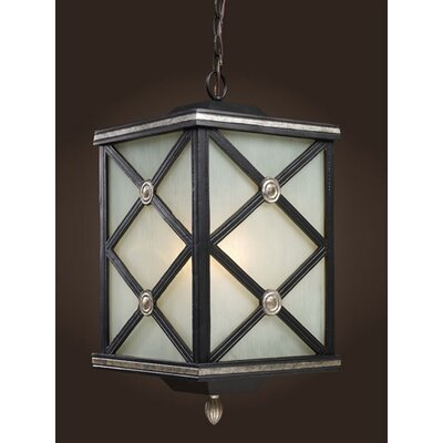Elk Lighting Chaumont 1 Light Outdoor Hanging Lantern