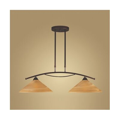 Elysburg 2 Light Kitchen Island Pendant
