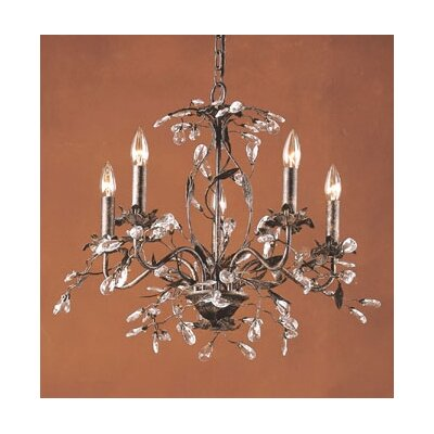 Elk Lighting Circeo Candle 5 Light Chandelier