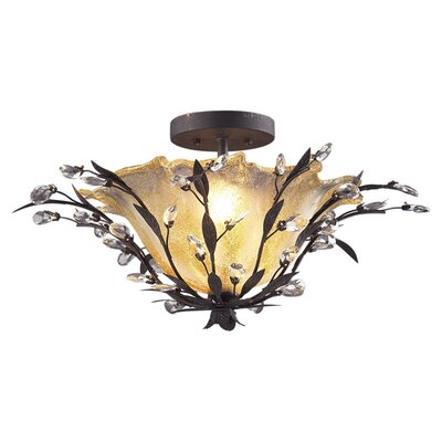 <strong>Elk Lighting</strong> Circeo Semi Flush Mount