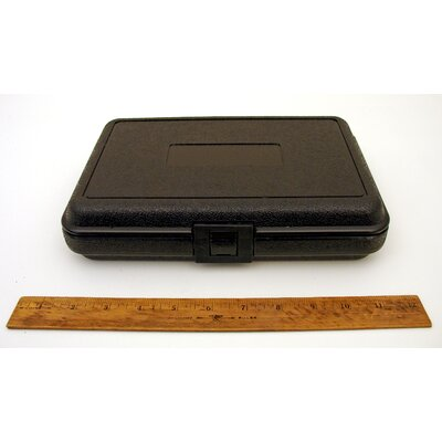 Platt Blow Molded Case in Black: 7 x 10.5 x 2.38
