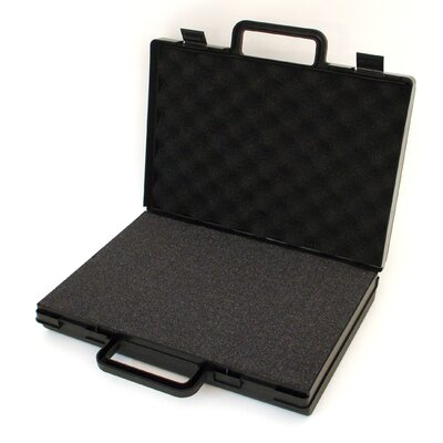 Platt Slick Small Attache Case in Black