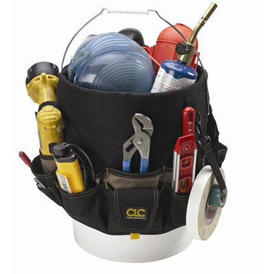 CLC Tool Bag: 48-Pocket Bucket Pockets