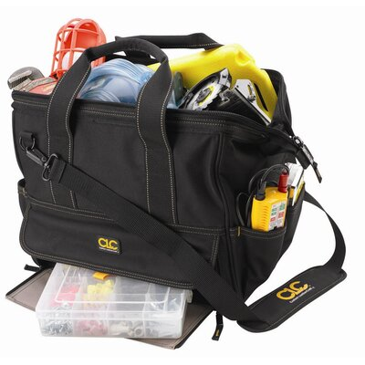 CLC Tool Bag: 14 Pocket Large Traytote Bag: 12