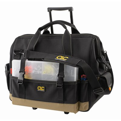 "Platt CLC Tool Bag - 42 pocket – 18"" slideglide roller bag"