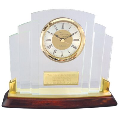 "Chass ""Your New York Minute"" Clock"