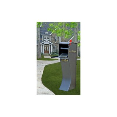 Curbvault CurbVault Anti-Theft Locking Column Mounted Mailbox