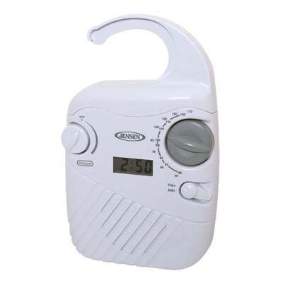 Jensen AM/FM Shower Radio