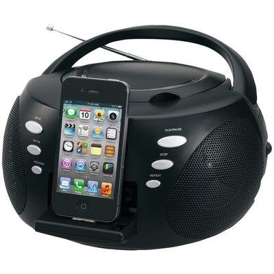 iPhone / iPod Portable Docking Digital Cd Music System