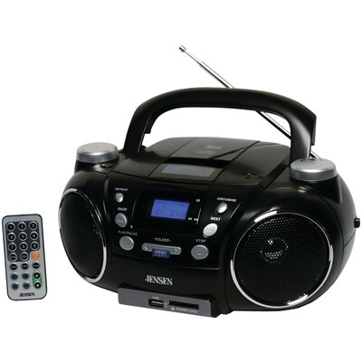 Jensen Portable AM/FM Stereo CD Player