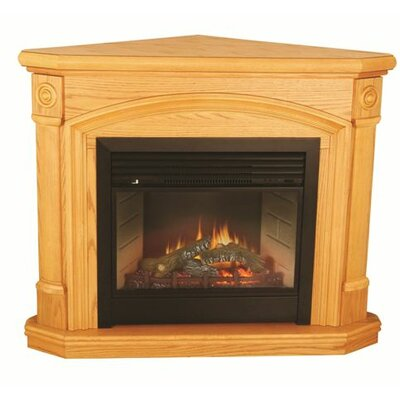 FIELDSTONE RUSTIC ELECTRIC FIREPLACE MANTEL PACKAGE - SMP