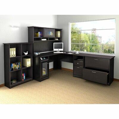 Bush Industries Cabot L-Desk Office Suite