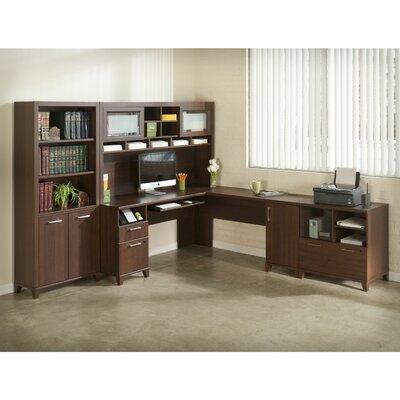 Bush Industries Achieve L-Shaped Desk Office Suite