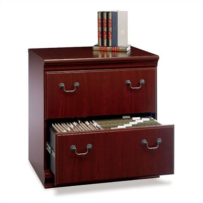 Bush Industries Birmingham Collection- Cherry Lateral File